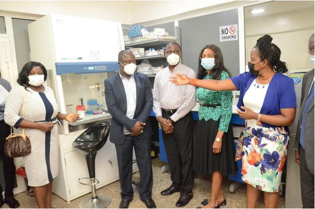 APIN Public Health Initiatives Donates Equipment to the Biorepository and Clinical Virology Laboratory